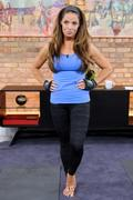 Trish Stratus - The Marilyn Denis Show in Toronto 9/28/11