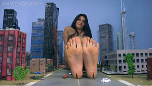 Giantess girl fetish