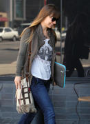 Olivia Wilde out and about in Los Angeles 03-08-2011