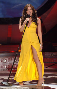 Katharine Mcphee Yellow Dress