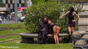 PUBLIC DISGRACE: August 29, 2016 – Steve Holmes, Oliver Pina, Melody Petite and Mistress Minerva