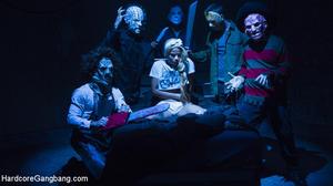 HARDCORE GANG BANG: November 16, 2016 – Jessica Creepshow, Will Havoc, Gage Sin, Tommy Pistol, Lance Hart, Mickey Mod