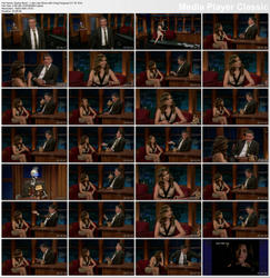 Sophia Bush ~ Late Late Show with Craig Ferguson 1/10/12 (HDTV 1080i)