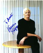 Vanessa Redgrave In Person Autograph 15.02.11 (1X)
